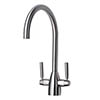 Mayfair - Rhumba Mono Kitchen Tap - Brushed Nickel - KIT149 Small Image