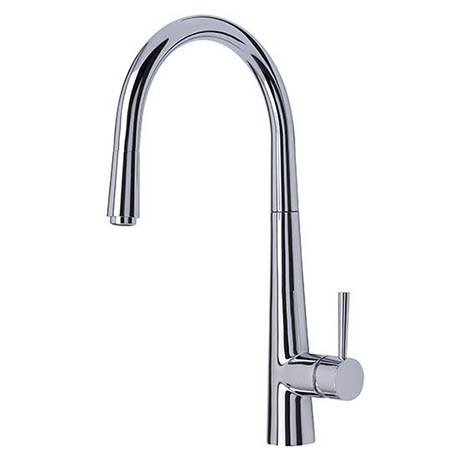 Mayfair - Palazzo Mono Kitchen Tap with Pull Out Head - Chrome - KIT159