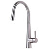 Mayfair - Palazzo Mono Kitchen Tap with Pull Out Head - Brushed Nickel - KIT163 profile small image view 1