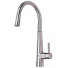 Mayfair - Palazzo GLO Mono Kitchen Tap with Pull Out Head - Brushed Nickel - KIT165 profile small image view 1