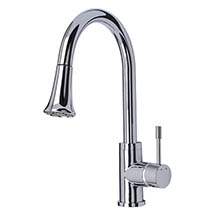 Mayfair Shine Mono Kitchen Tap with Pull Out Spout - KIT167 Medium Image