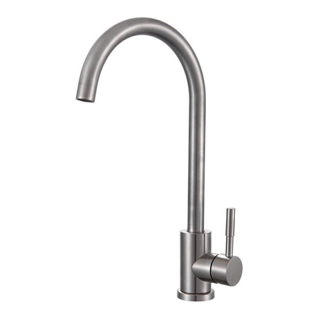 Mayfair Logic Mono Kitchen Mixer Tap - Stainless Steel - KIT273