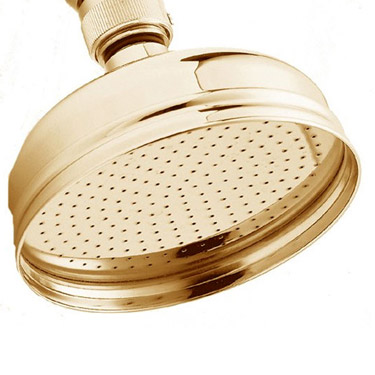 Deva Traditional Shower Kit with 5 inch Shower Rose - Gold Profile Large Image