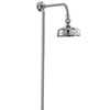 Deva Period Style Rigid Riser Shower Kit - Chrome - KITS08 profile small image view 1