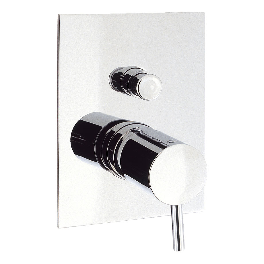 Crosswater - Kai Lever Concealed Manual Shower Valve with Diverter - KL0005RC Large Image