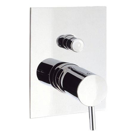 Crosswater - Kai Lever Concealed Manual Shower Valve with Diverter - KL0005RC
