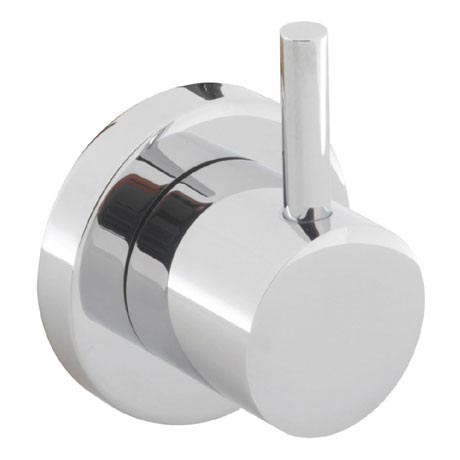 Crosswater - Kai Lever Wall Mounted 4 Way Diverter Valve - KL0007WC