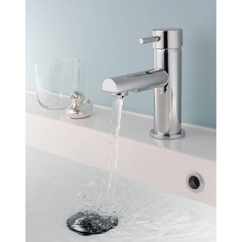 Crosswater - Kai Lever Monobloc Basin Mixer Tap - KL110DNC Profile Large Image