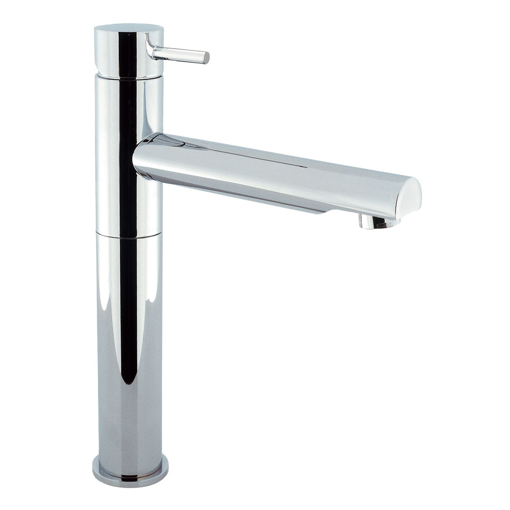 Crosswater - Kai Lever Tall Monobloc Basin Mixer Tap with Swivel Spout - KL116DNC Large Image