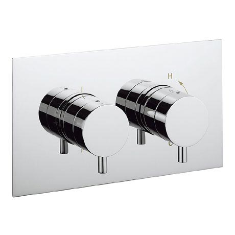 Crosswater - Kai Lever Thermostatic Shower Valve with 2 Way Diverter - KL1501RC