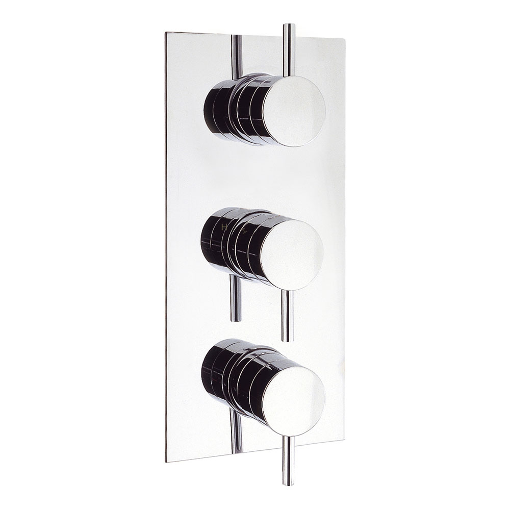 Crosswater - Kai Lever Triple Concealed Thermostatic Shower Valve - KL2000RC Large Image
