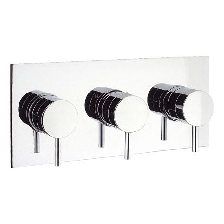 Crosswater - Kai Lever Thermostatic Shower Valve with 3 Way Diverter - KL3001RC