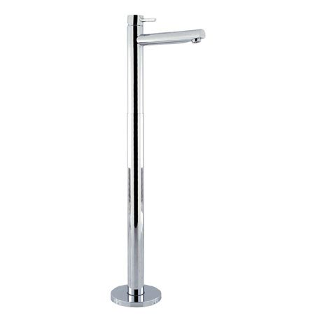 Crosswater - Kai Lever Floor Mounted Freestanding Monobloc Bath Filler - KL315FC