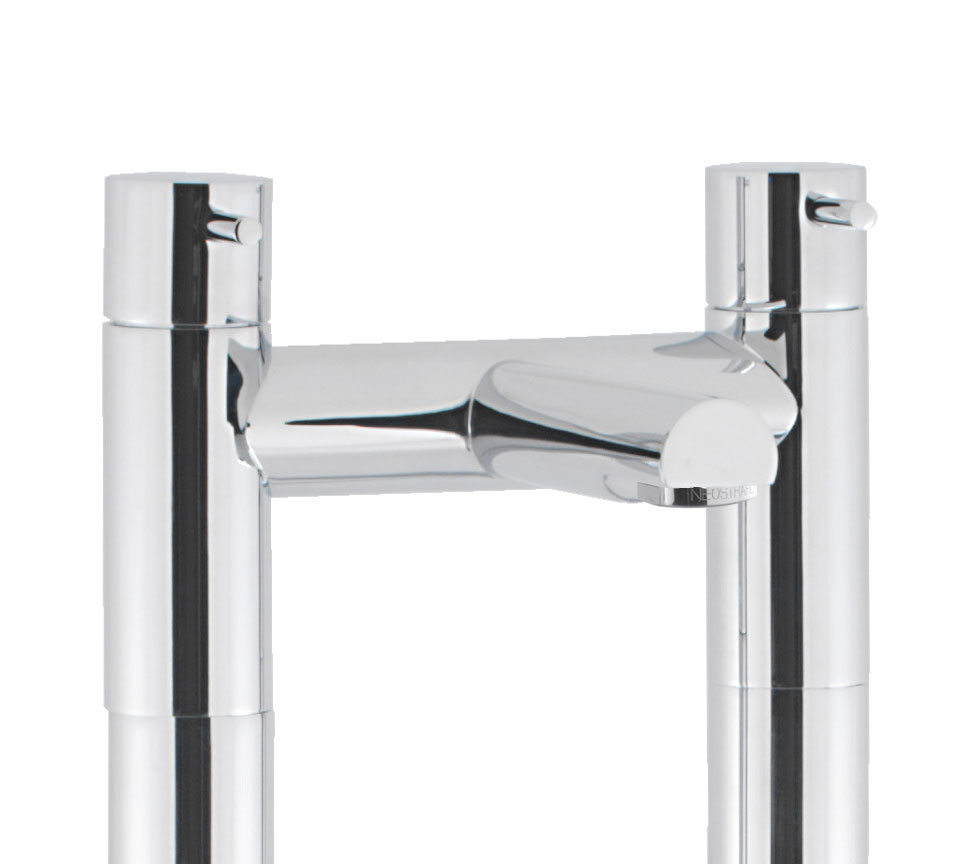 Crosswater - Kai Lever Floor Mounted Freestanding Bath Filler - KL322DC-AA002FC profile large image view 2