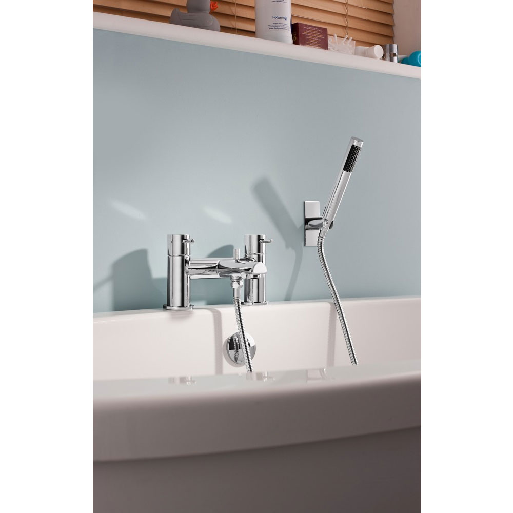 Crosswater - Kai Lever Bath Shower Mixer with Kit - KL422DC profile large image view 2