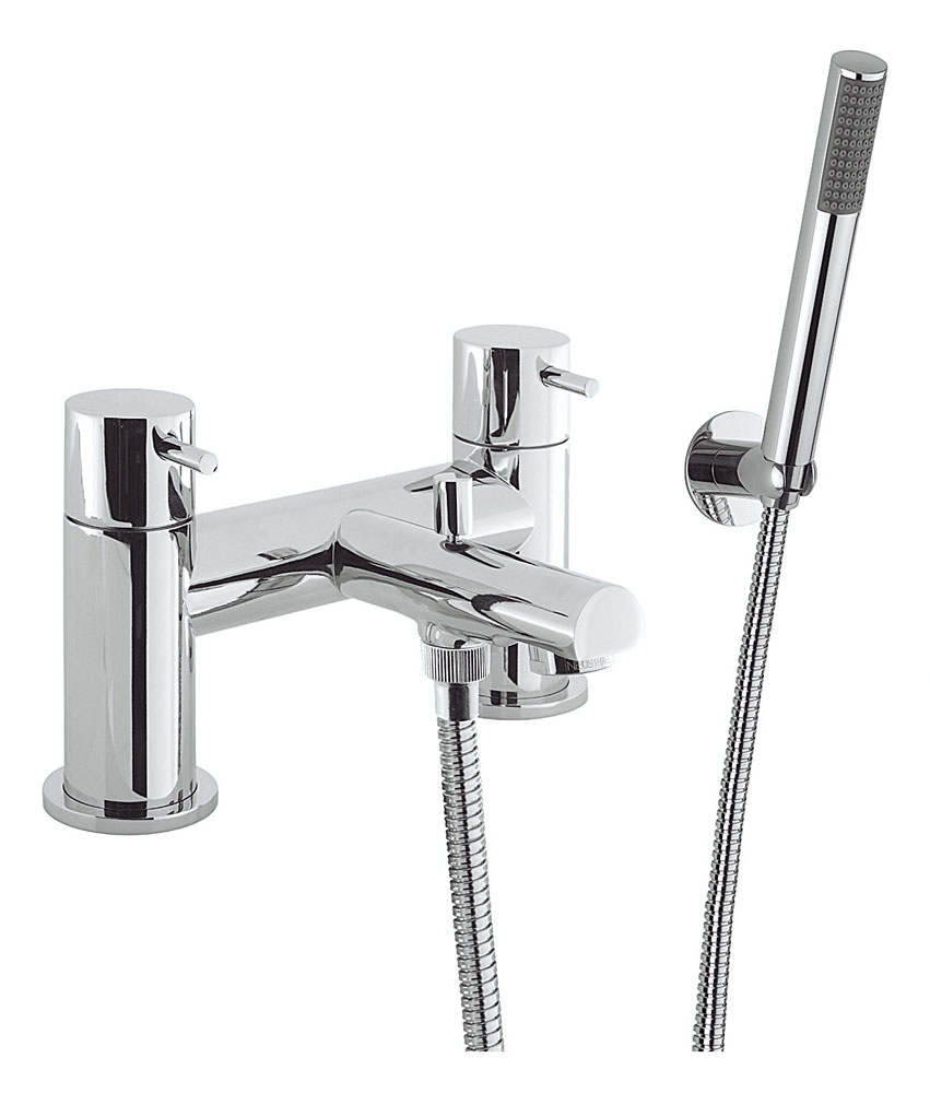 Crosswater - Kai Lever Bath Shower Mixer with Kit - KL422DC profile large image view 1