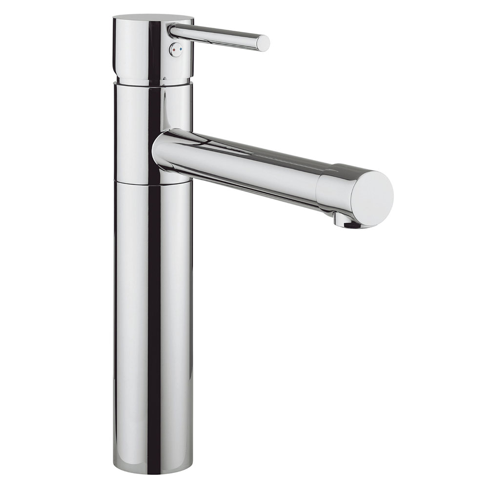 Crosswater - Cucina Kai Lever Monobloc Kitchen Mixer - Chrome - KL716DC Large Image