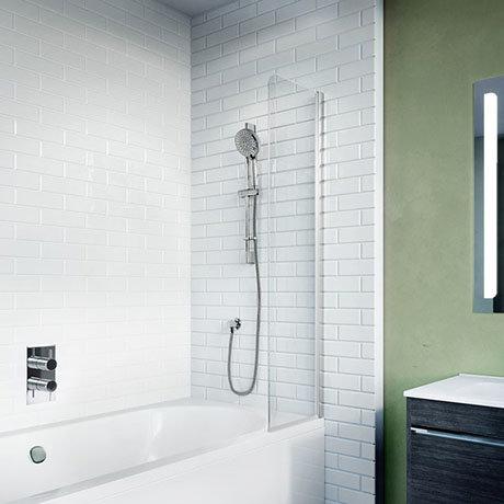 Crosswater Kai 6 Mini Fixed Bath Screen