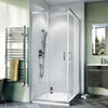 Crosswater Kai 6 Corner Entry Shower Enclosure profile small image view 1