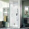 Crosswater Kai 6 Pivot Shower Door profile small image view 1