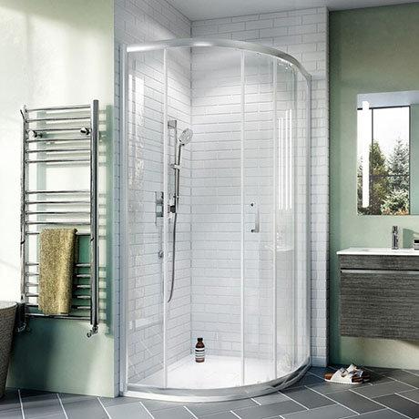 Crosswater Kai 6 Offset Quadrant Single Door Shower Enclosure