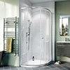 Crosswater Kai 6 Offset Quadrant Single Door Shower Enclosure profile small image view 1