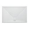 Crosswater Kai 25mm Rectangular Shower Tray + Waste profile small image view 1