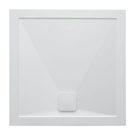 Crosswater Kai 25mm Square Shower Tray + Waste