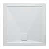 Crosswater Kai 25mm Square Shower Tray + Waste profile small image view 1