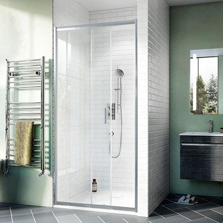 Crosswater Kai 6 Single Sliding Shower Door