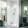 Crosswater Kai 6 Single Sliding Shower Door profile small image view 1