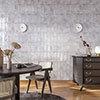 Kenley Grey Gloss Chevron Effect Wall Tiles - 100 x 300mm Small Image