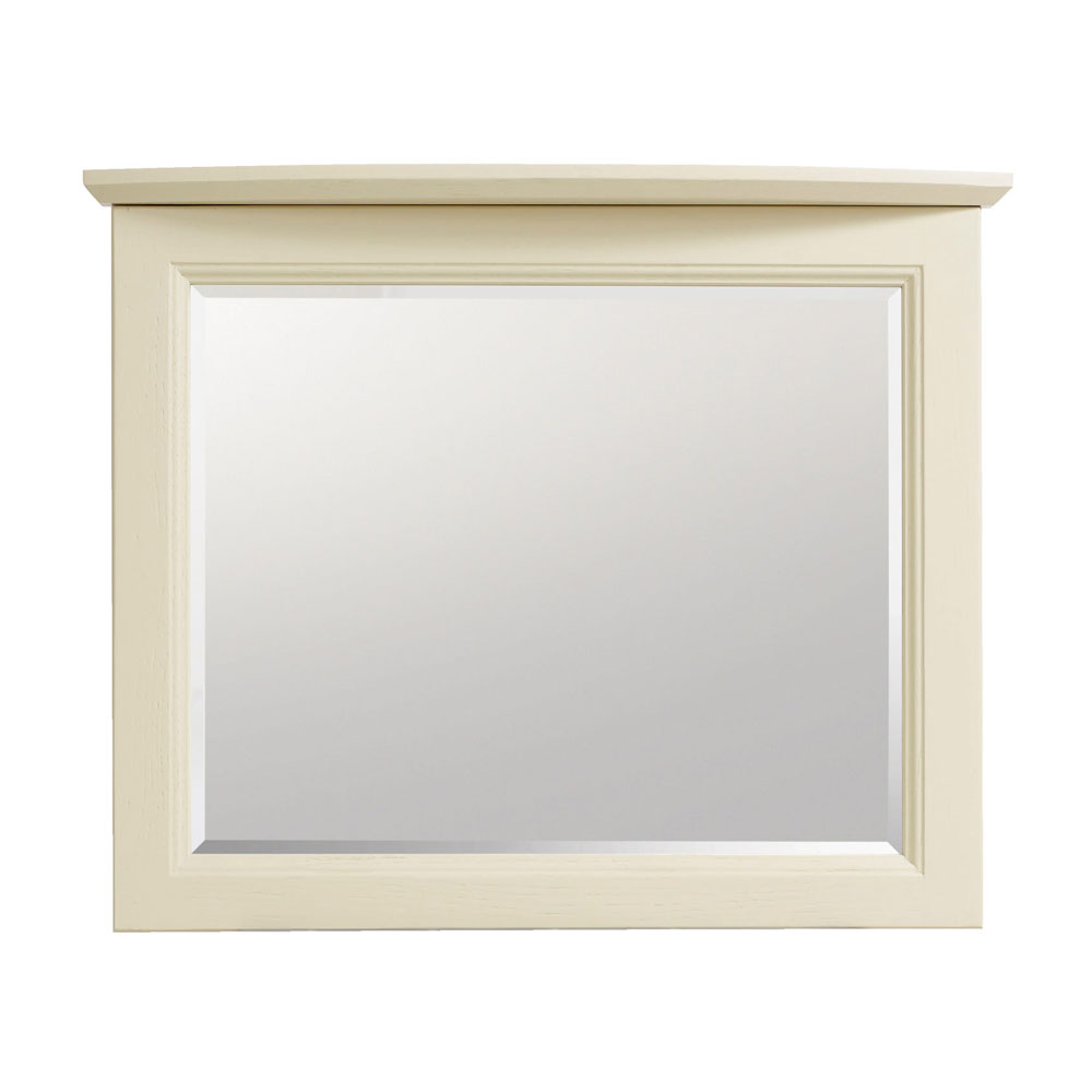 Heritage - Caversham Curved 600m Wall Mirror - Various Colour Options Large Image
