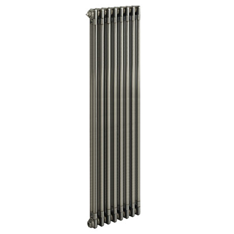 Keswick 1800 x 372mm Raw Metal (Lacquered) 2 Column Radiator