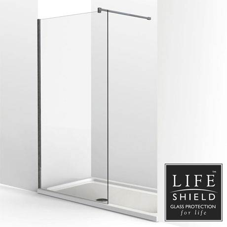 KUDOS Ultimate2 1400 x 800mm 8mm Glass Recess Shower Enclosure