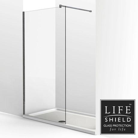 KUDOS Ultimate2 1700 x 800mm 8mm Glass Recess Shower Enclosure