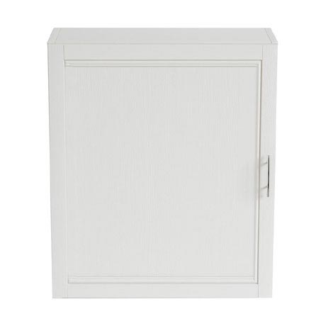 Heritage - Caversham 560mm Wall Cabinet with Brushed Stainless Steel Handle - Various Colour Options