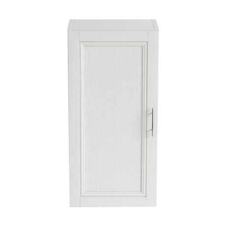 Heritage - Caversham 320mm Wall Cabinet with Brushed Stainless Steel Handle - Various Colour Options