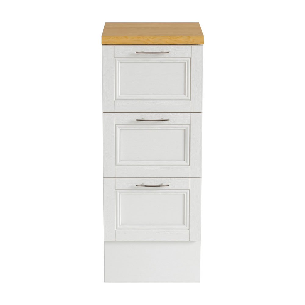 Heritage - Caversham 320mm Drawer Unit with Brushed Stainless Steel Handles - Various Colour Options