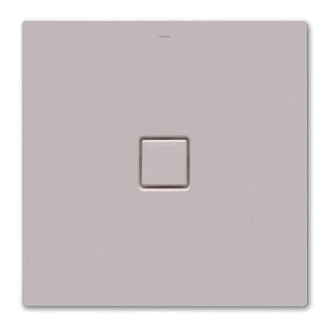 Kaldewei - Avantgarde Conoflat Steel Shower Tray and Waste - Pearl Grey Matt - Various Sizes