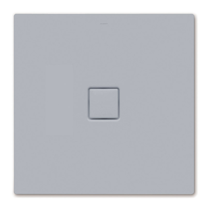 Kaldewei - Avantgarde Conoflat Steel Shower Tray and Waste - Oyster Grey Matt - Various Sizes Large Image