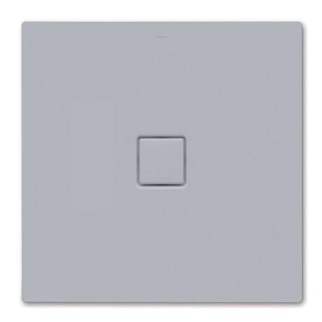 Kaldewei - Avantgarde Conoflat Steel Shower Tray and Waste - Oyster Grey Matt - Various Sizes