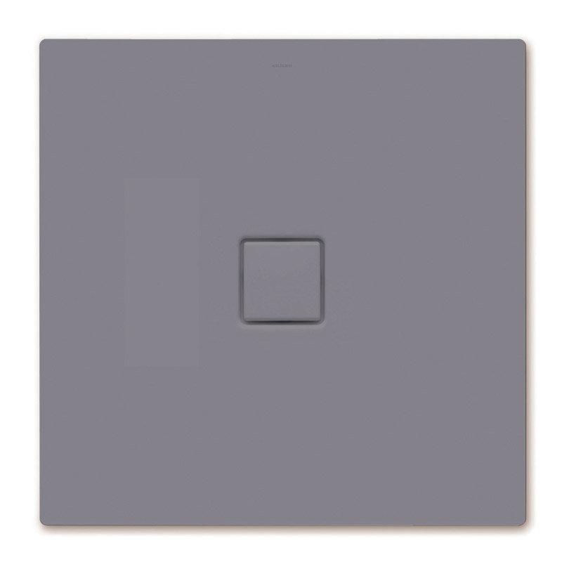 Kaldewei - Avantgarde Conoflat Steel Shower Tray and Waste - Pasadena Grey Matt - Various Sizes Large Image