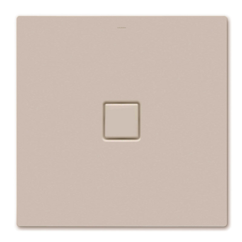 Kaldewei - Avantgarde Conoflat Steel Shower Tray and Waste - Prairie Beige Matt - Various Sizes Large Image