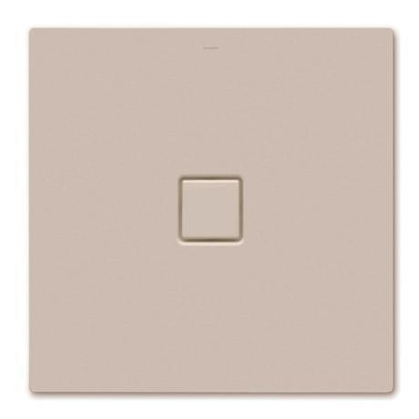 Kaldewei - Avantgarde Conoflat Steel Shower Tray and Waste - Prairie Beige Matt - Various Sizes