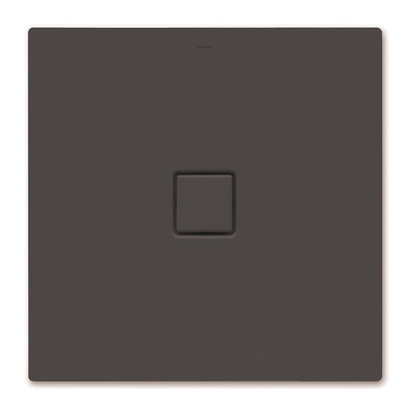 Kaldewei - Avantgarde Conoflat Steel Shower Tray and Waste - Woodberry Brown Matt - Various Sizes