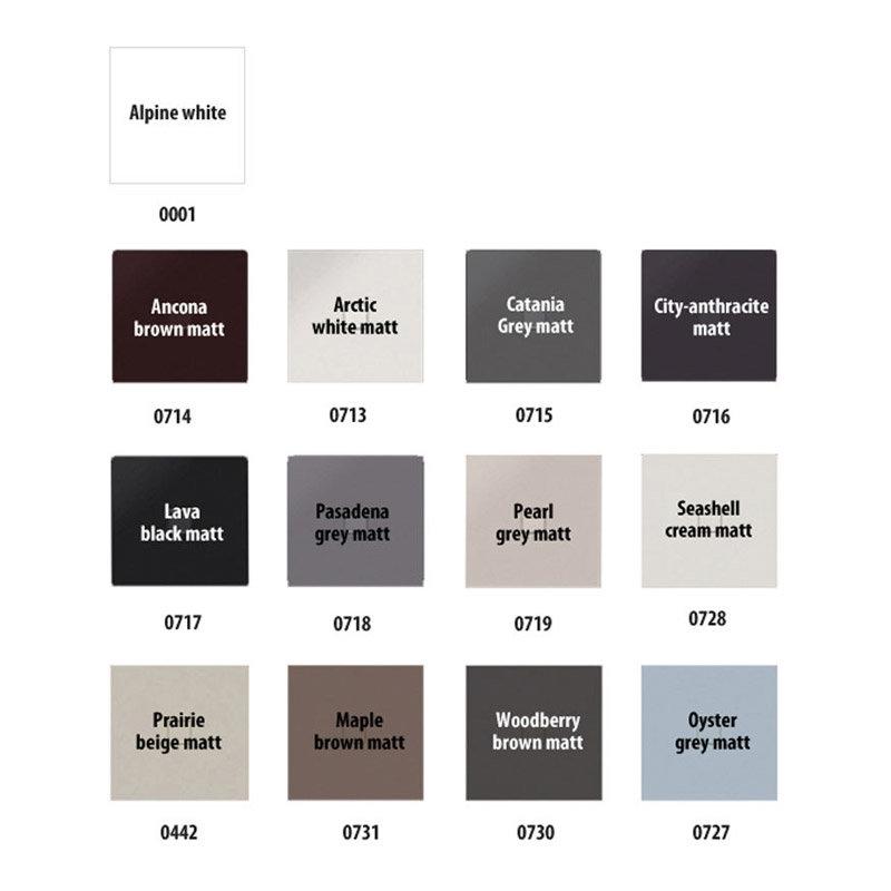 Kaldewei - Avantgarde Conoflat Steel Shower Tray with Waste - Catania Grey Matt - Various Sizes profile large image view 6