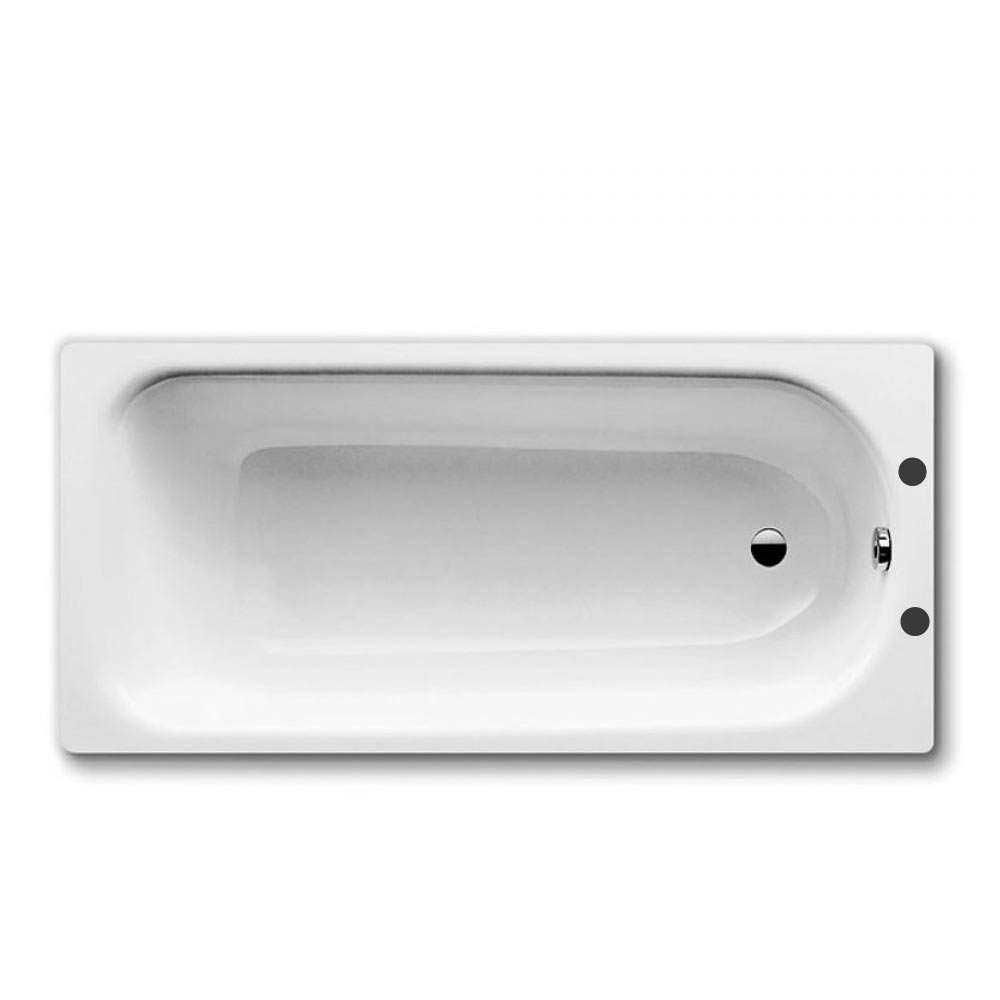 Kaldewei Eurowa 1500 x 700mm 2TH Steel Anti Slip Bath