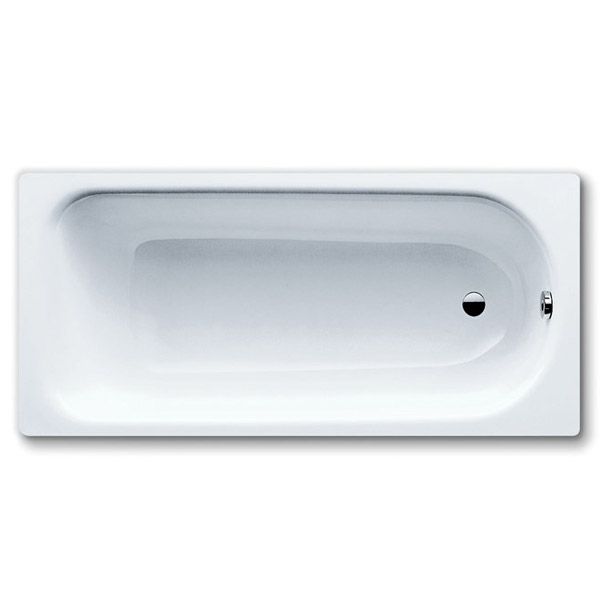 Kaldewei Saniform Plus Steel Enamel Bath with Leg Set 0TH profile large image view 1