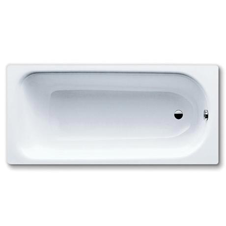 Kaldewei - Saniform Plus Steel Enamel Bath with Leg Set - no tap hole